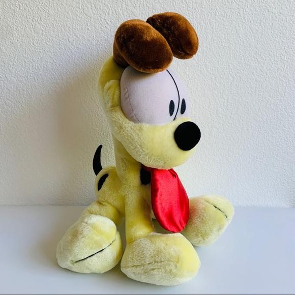Vintage Garfield Odie Dog Big Tongue Plush